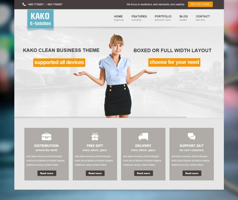 kako orange responsive wordpress themes 43 788x661