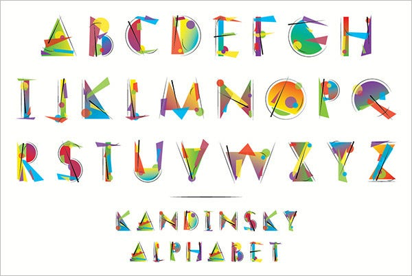 graphic regarding Printable Big Alphabet Letters identified as 23+ Enormous Alphabet Letter Templates Styles Cost-free