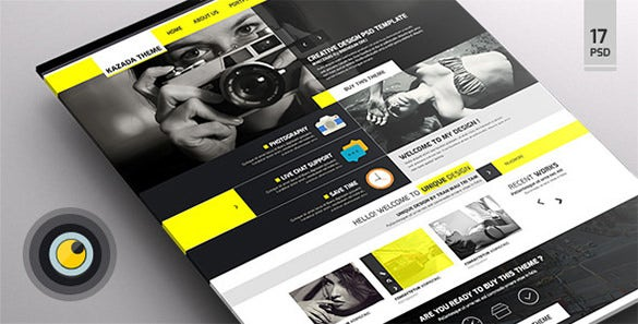 kazada – multipurpose psd template