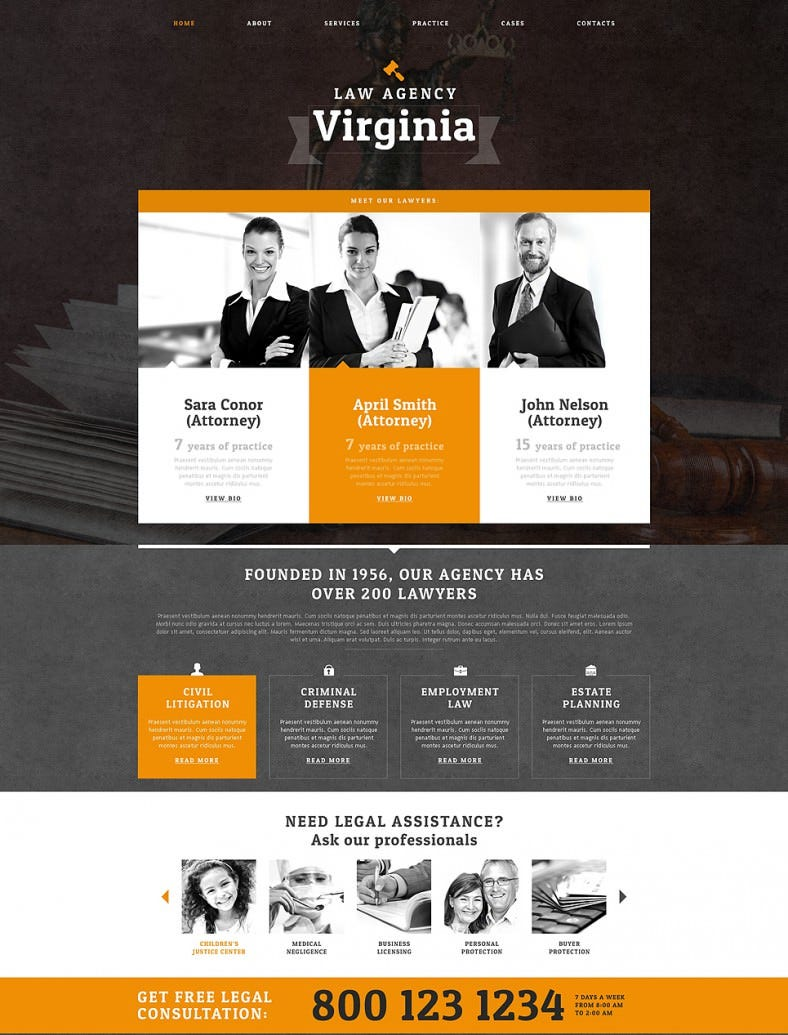 law firm drupal template 788x1035