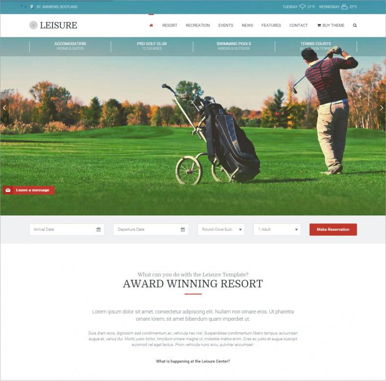 leisure golf responsive wordpress theme 58 788x778