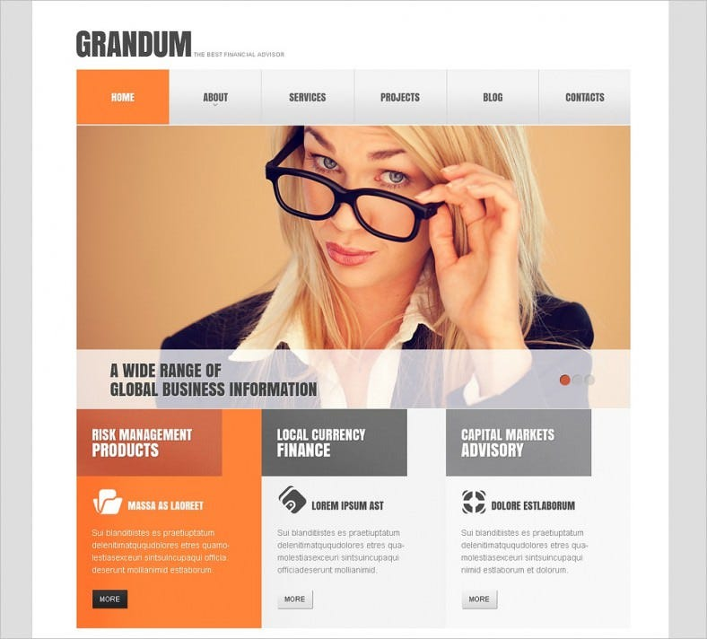 lightsome financial advisor joomla theme 75 788x712