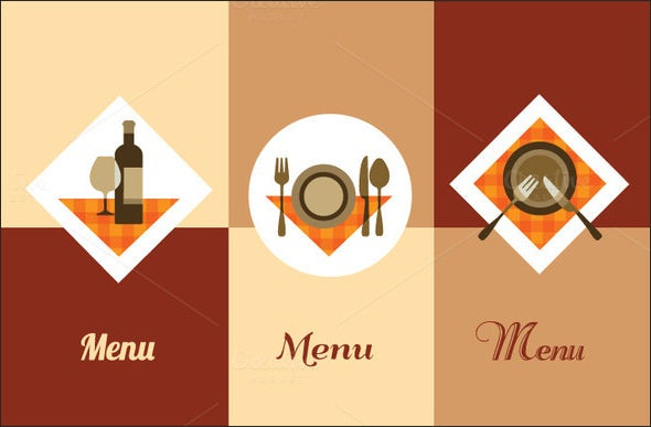 lunch menu template download