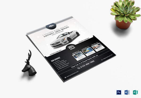 luxury-car-wash-flyer-template