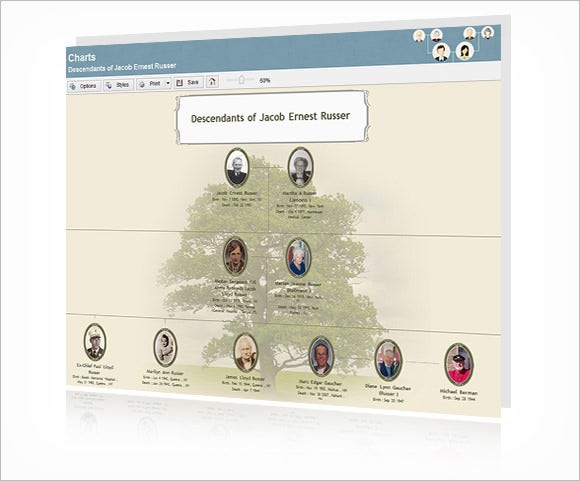 Family Tree Website Template. familytree heritage family trees ...