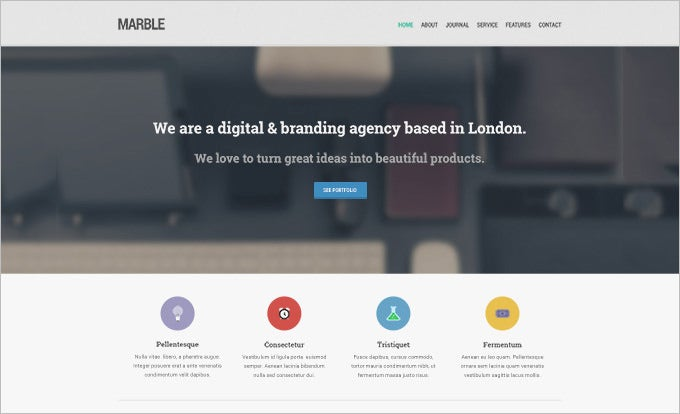 Free PSD Website Templates Free Premium Templates Free - Homepage template