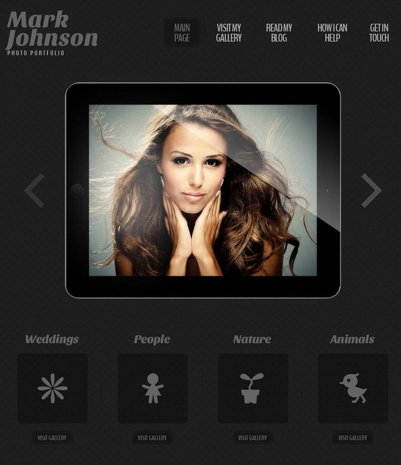 mark johnson dark black responsive wordpress theme 75 788x912