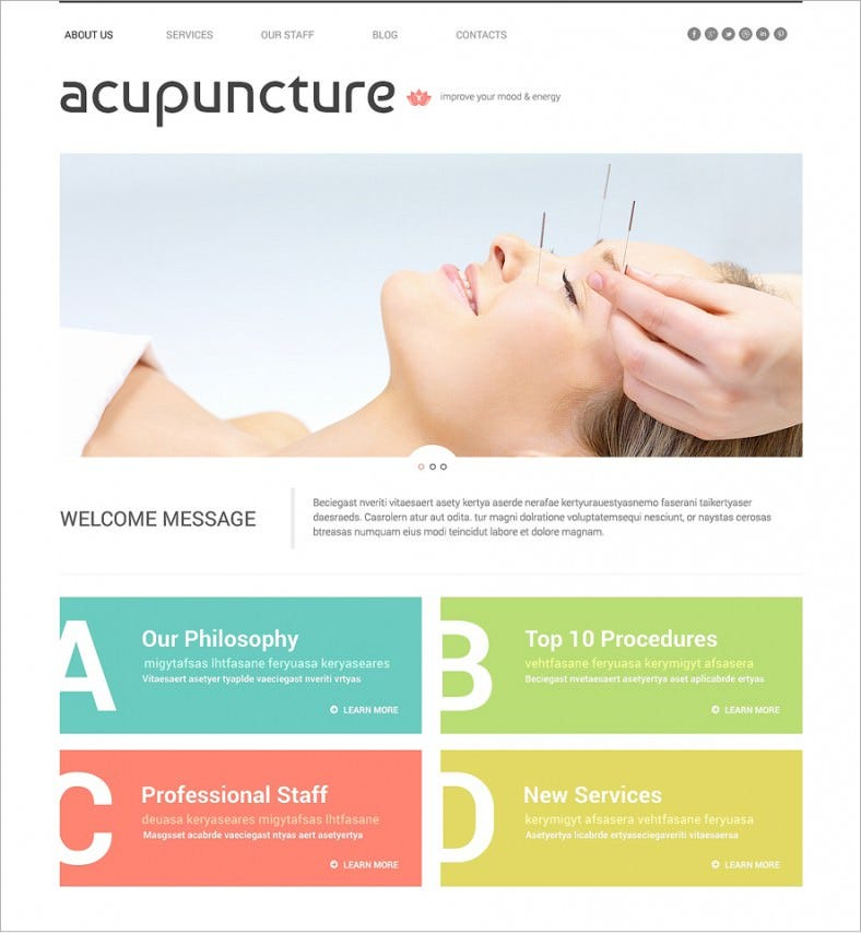 12 Best Acupuncture Wordpress Templates & Themes | Free & Premium ...