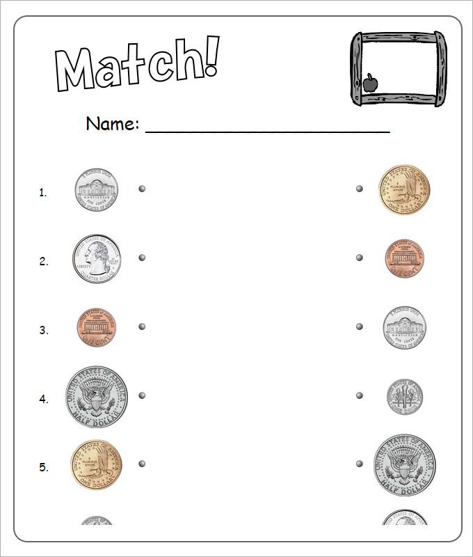 20 Sample Kids Money Worksheet Templates | 20 Free PDF Documents ...