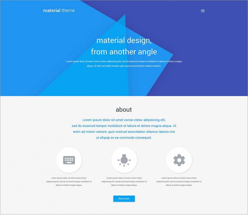 material blue responsive wordpress theme 75 788x686