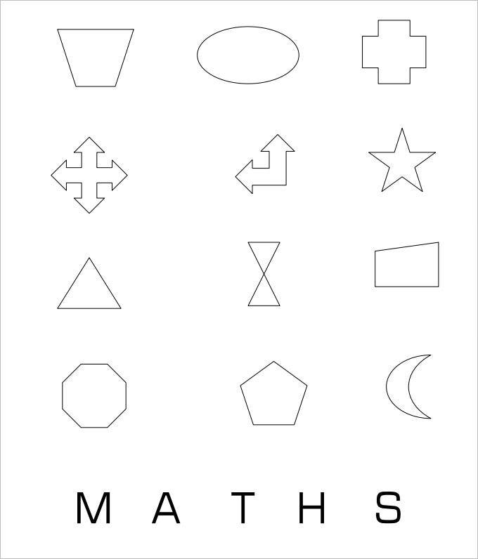 maths rotational symmetry worksheet