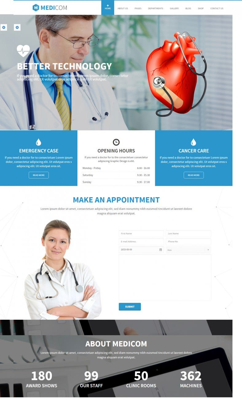 Health Drupal Resposinve Theme