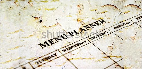 menu planner download