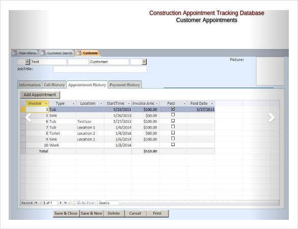microsoft-access-construction-appointment-tracking-database
