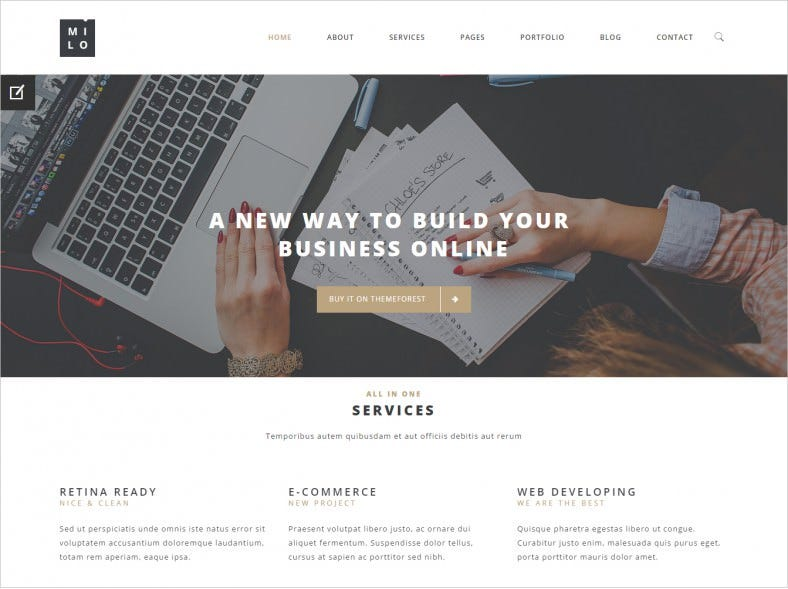 milo multi purpose html5 template 16 788x589