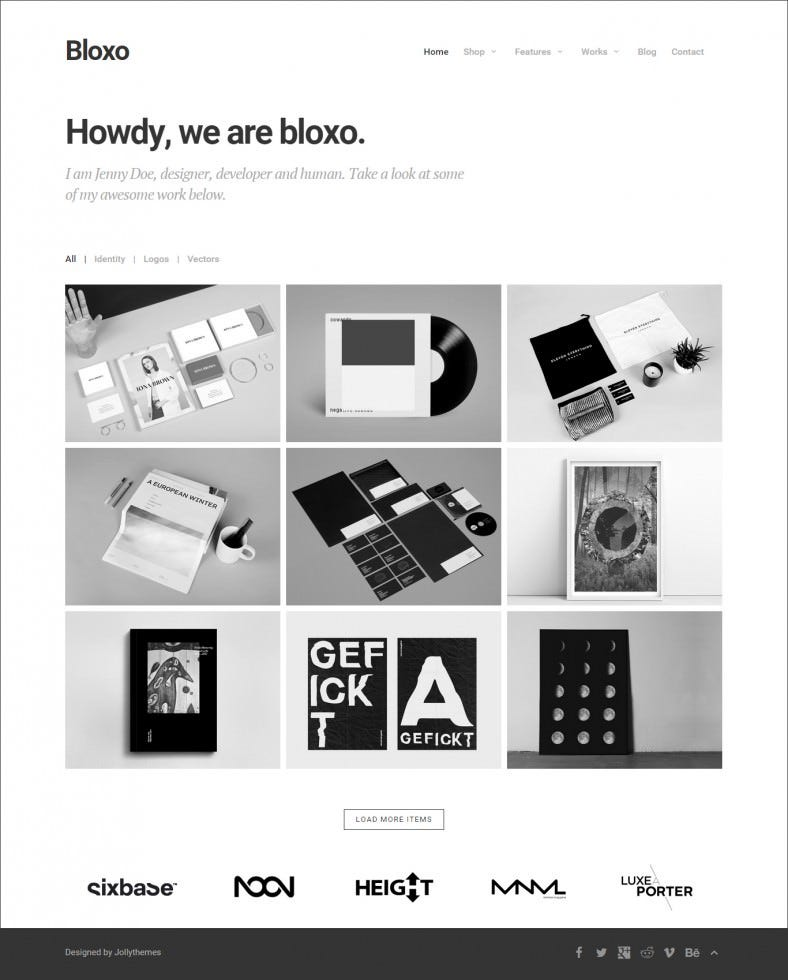 minimal freelancer agency html5 template 788x980