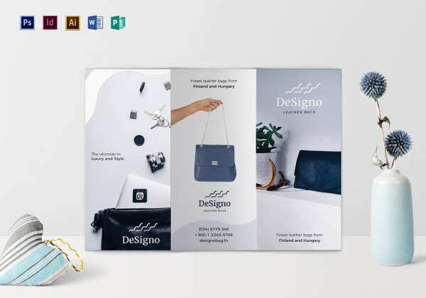 23 beautiful product brochure templates psd free for Free product brochure template