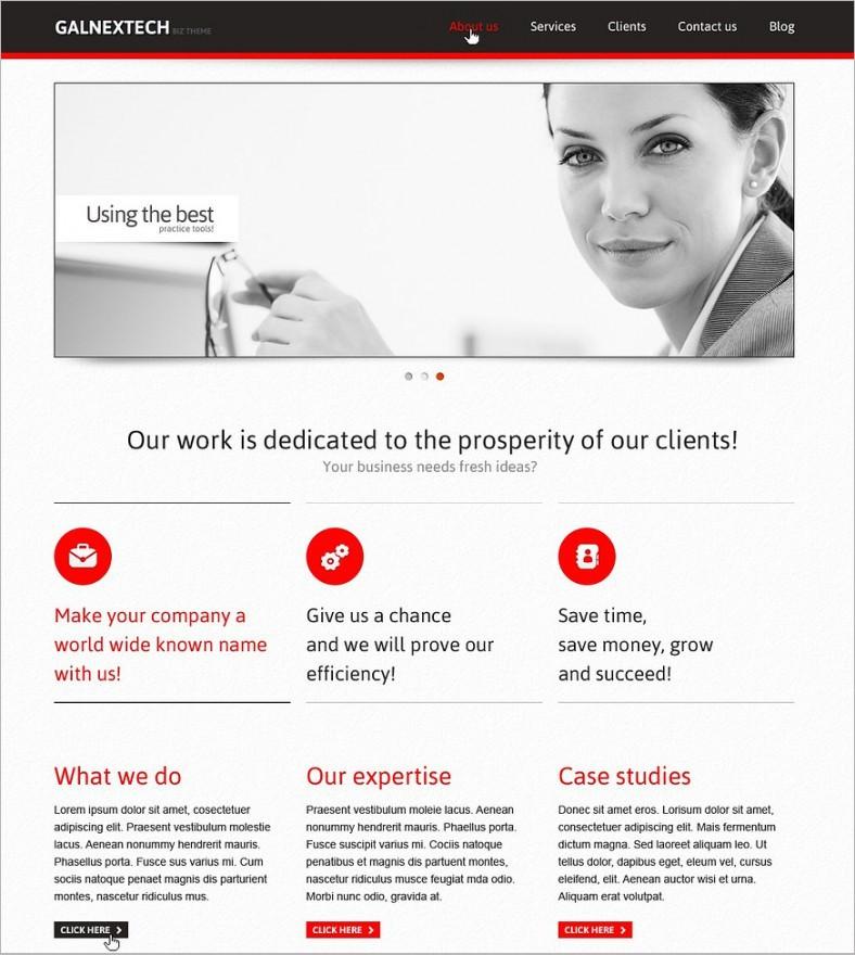 minimalist marketing agency joomla template1 75 788x880