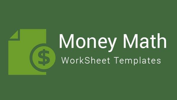 moneymathworksheet