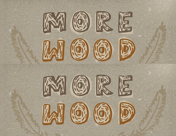 More Wood Large Alphabet Letters Template