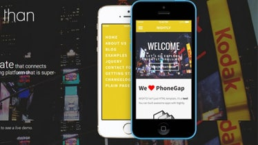 most popular mobile templates
