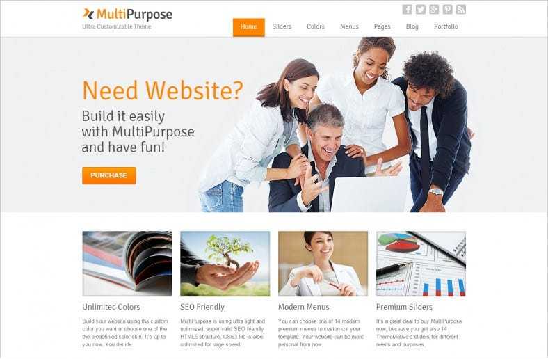 multipurpose responsive wordpress theme 58 788x516