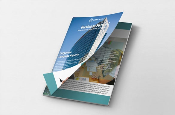 multipurpose brochure psd template