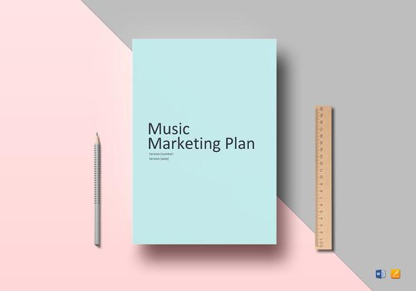 music-marketing-plan-template