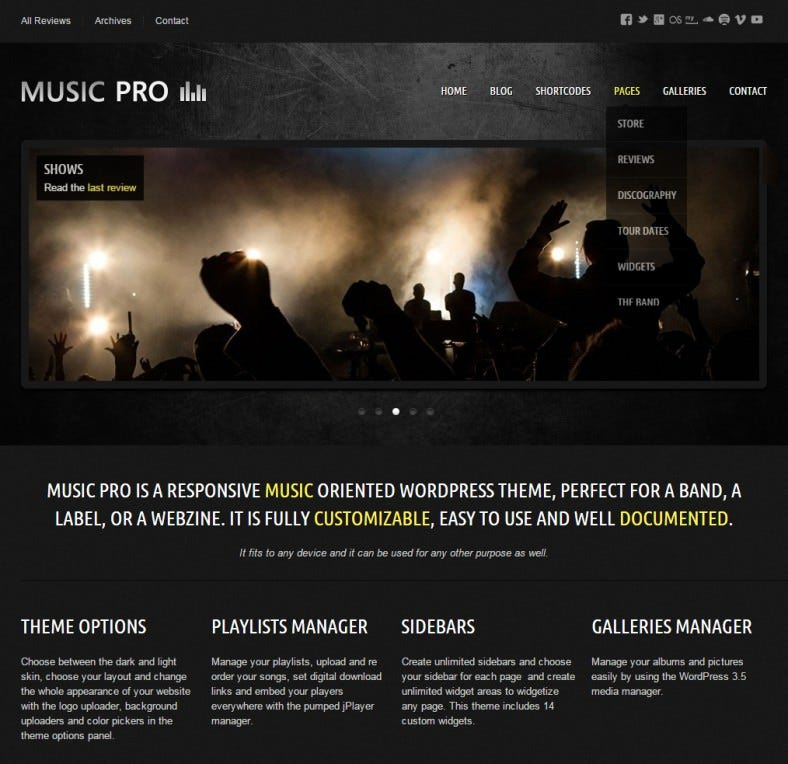 music oriented responsive wordpress theme 581 788x764