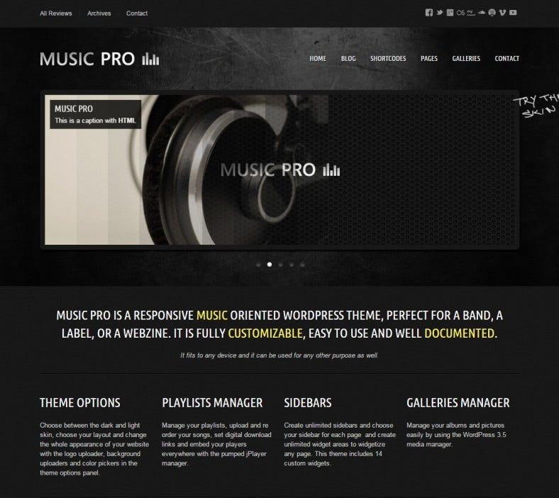 music pro grunge style responsive wordpress theme 58 788x702