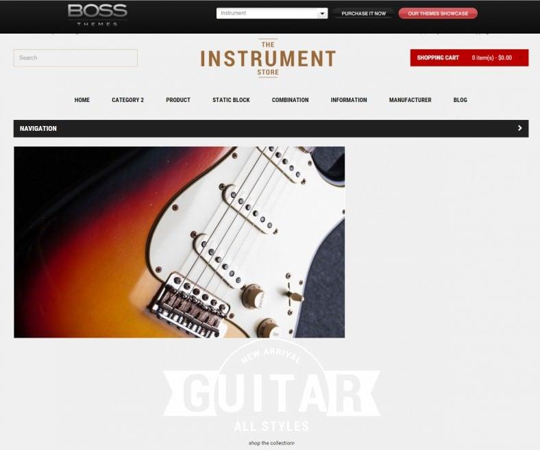 musical instrument responsive opencart theme instrument 788x657
