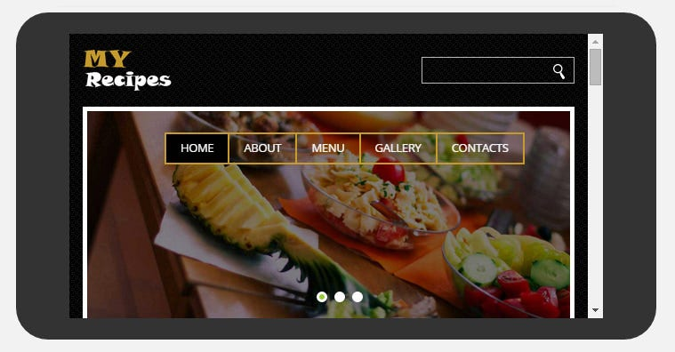 Restaurant mobile templates themes free premium free download fancy flat restaurant mobile theme free forumfinder Choice Image