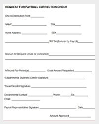 New-Employee-Payroll-Correction-Form