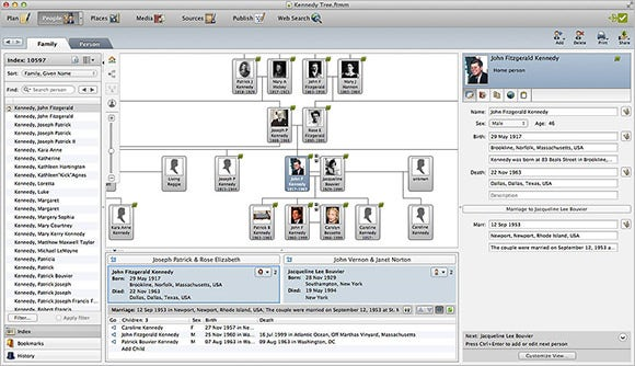 16 best family tree builders free premium templates for Family tree template for mac