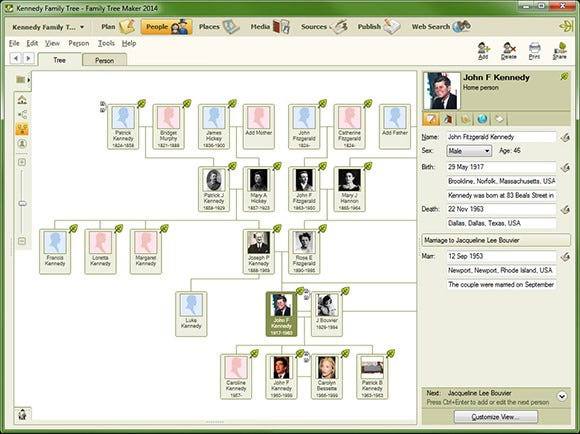 16 best family tree builders free premium templates free