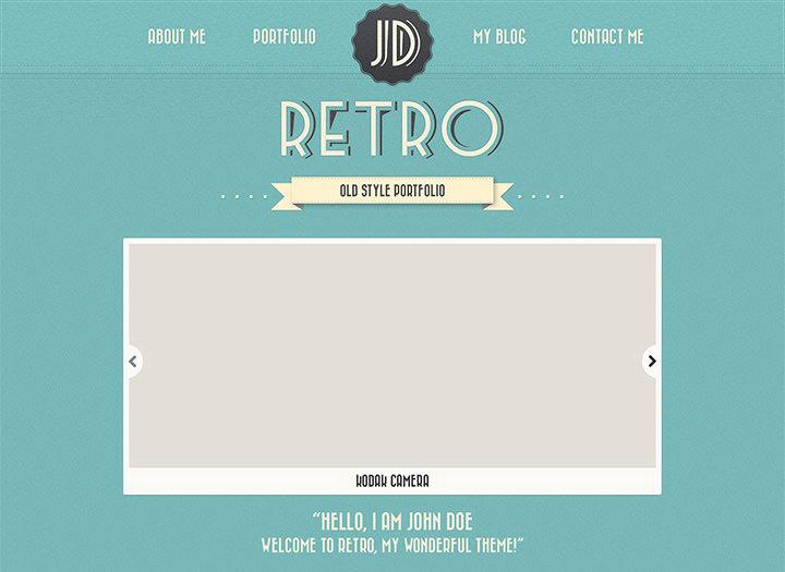 new retro portfolio