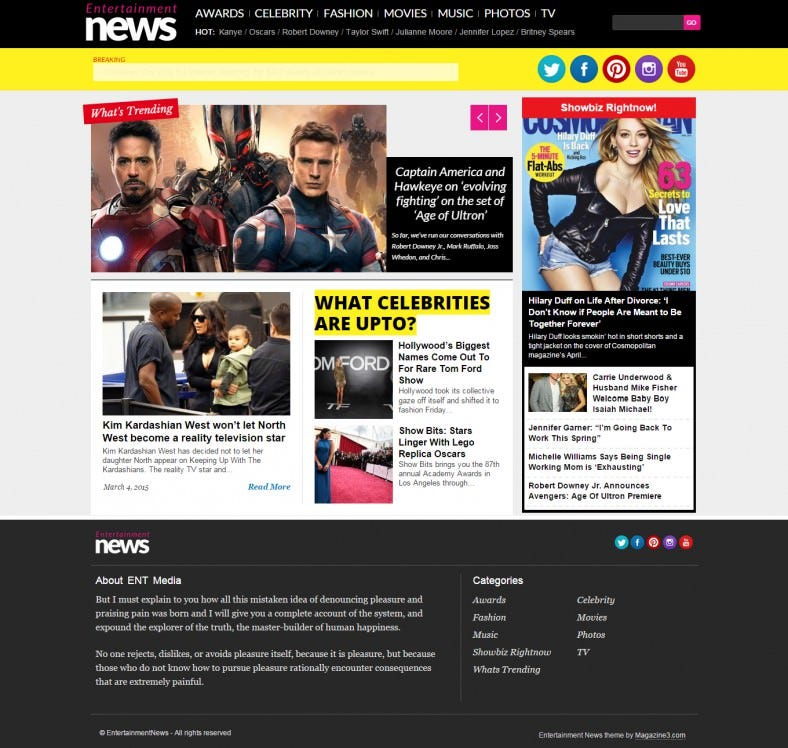 news entertainment word press themes 788x748