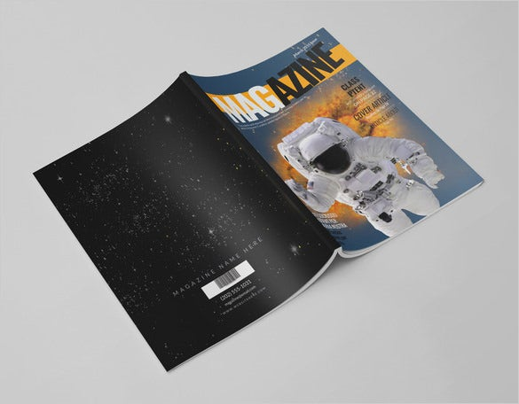 news magazine psd template