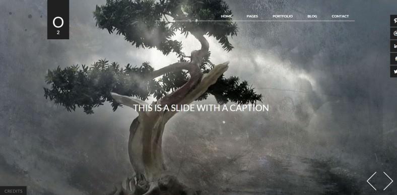 o2 artists portfolio responsive wordpress theme 45 788x387