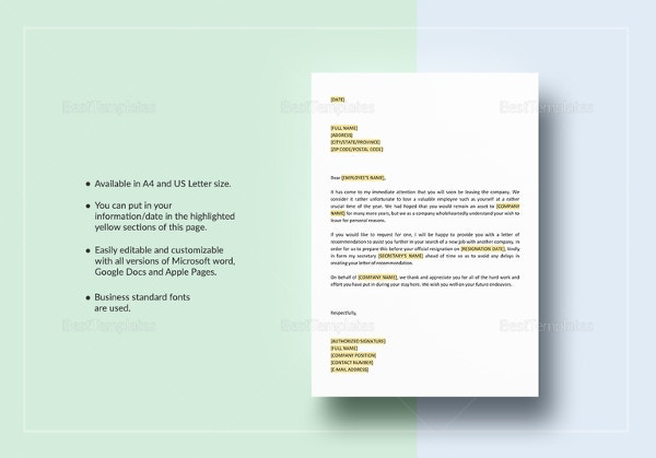 offer-of-letter-of-recommendation-template