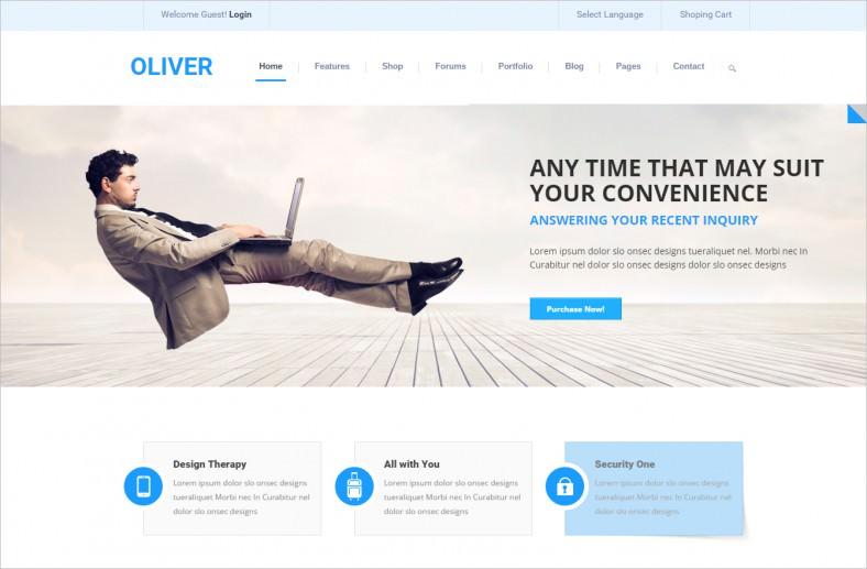 oliver multipurpose drupal theme 788x517