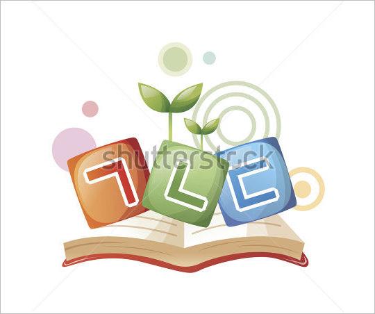 open book korean alphabet letter art