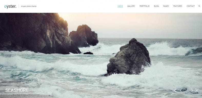 oyster fullscreen photography drupal theme 48 788x381