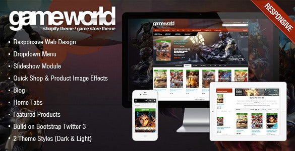 php gaming website templates
