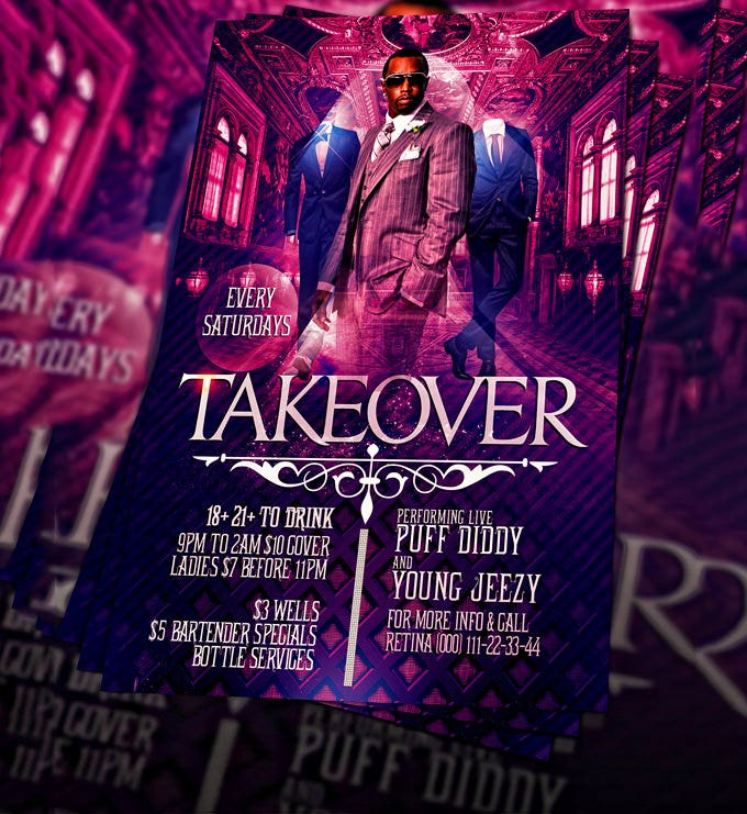 psd takeover flyer template 1