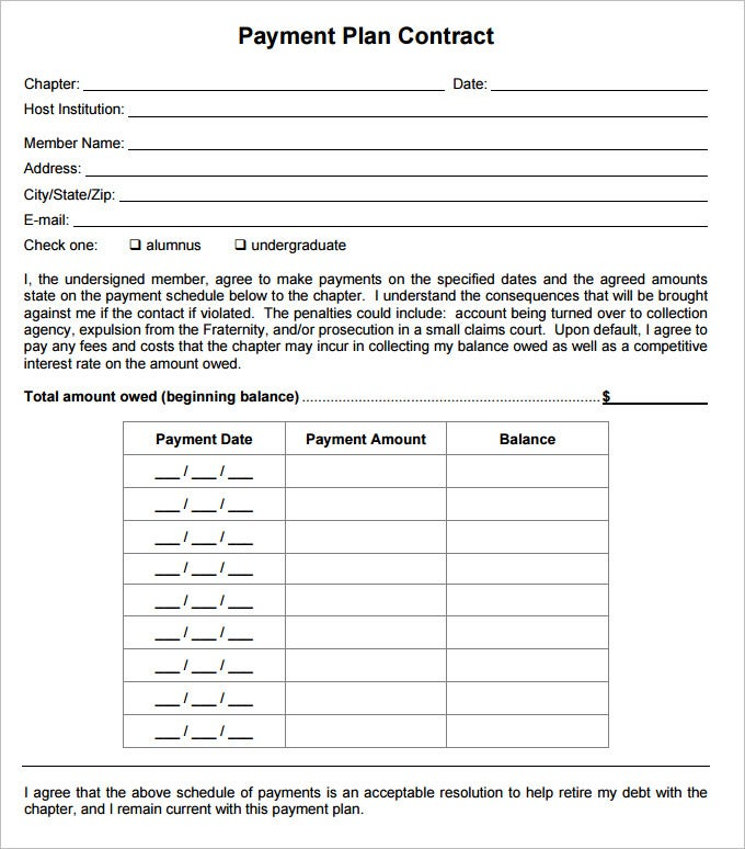 Gallery images and information: Dental Payment Plan Agreement Template