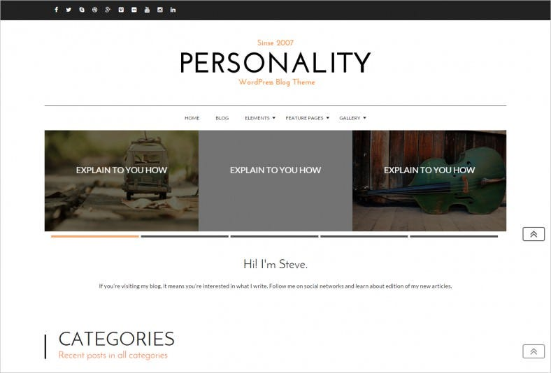 Personality-WordPress-Personal-Blog