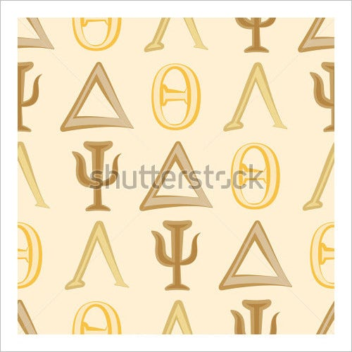 25 Greek Alphabet Letters Free Alphabet Letters Download