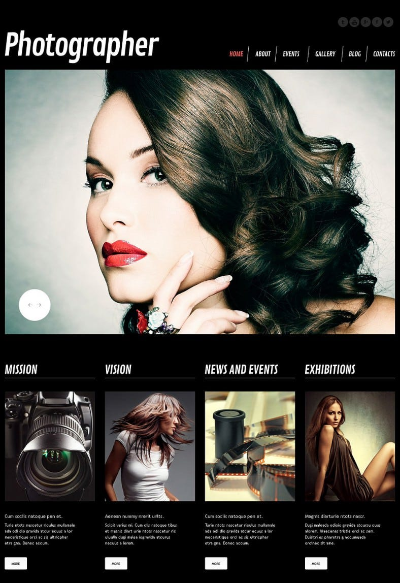 photographer dark black responsive wordpress theme 75 788x1148