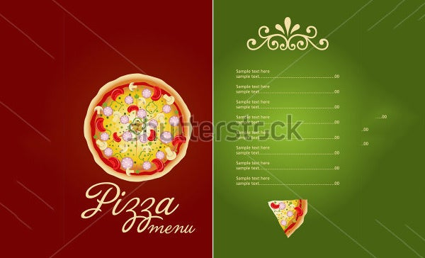 Pizza Menu Template – 25+ Free Psd, Eps Documents Download! | Free
